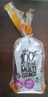 Pão 100% integral multigrãos - Product - pt