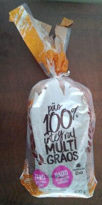 Pão 100% integral multigrãos - Produto - pt