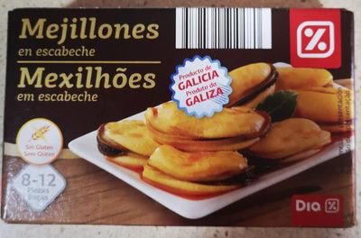 Mejillones en Escabeche - Producte