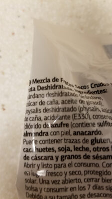 Cocktail Natural - Ingredientes - es
