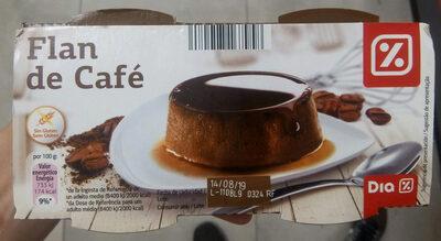Flan de café - Producto