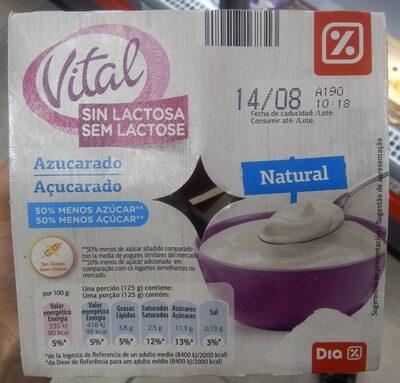 Yogurt Vital Sin Lactosa - Producto