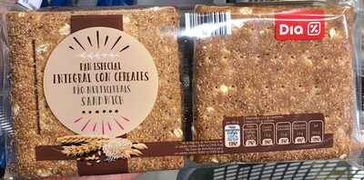 Pan Especial Con Cereales - Producte - es