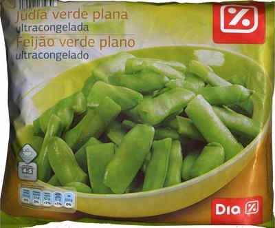 """Judías verdes planas troceadas congeladas """"Dia"""""""