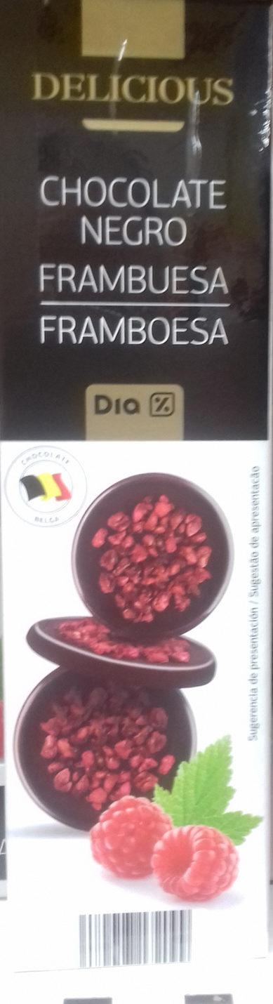 Chocolate Negro Frambuesa - Produkt - es