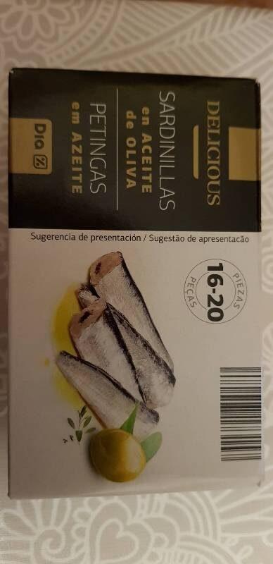Sardinillas en aceite de oliva - Product