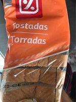 Tostadas - Producto - fr