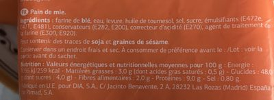 Tostadas - Ingredientes - fr