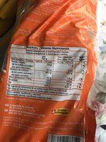 Tostadas - Información nutricional - fr