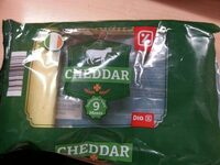 Queso cheddar - Producte