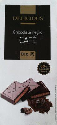 Chocolate negro Café