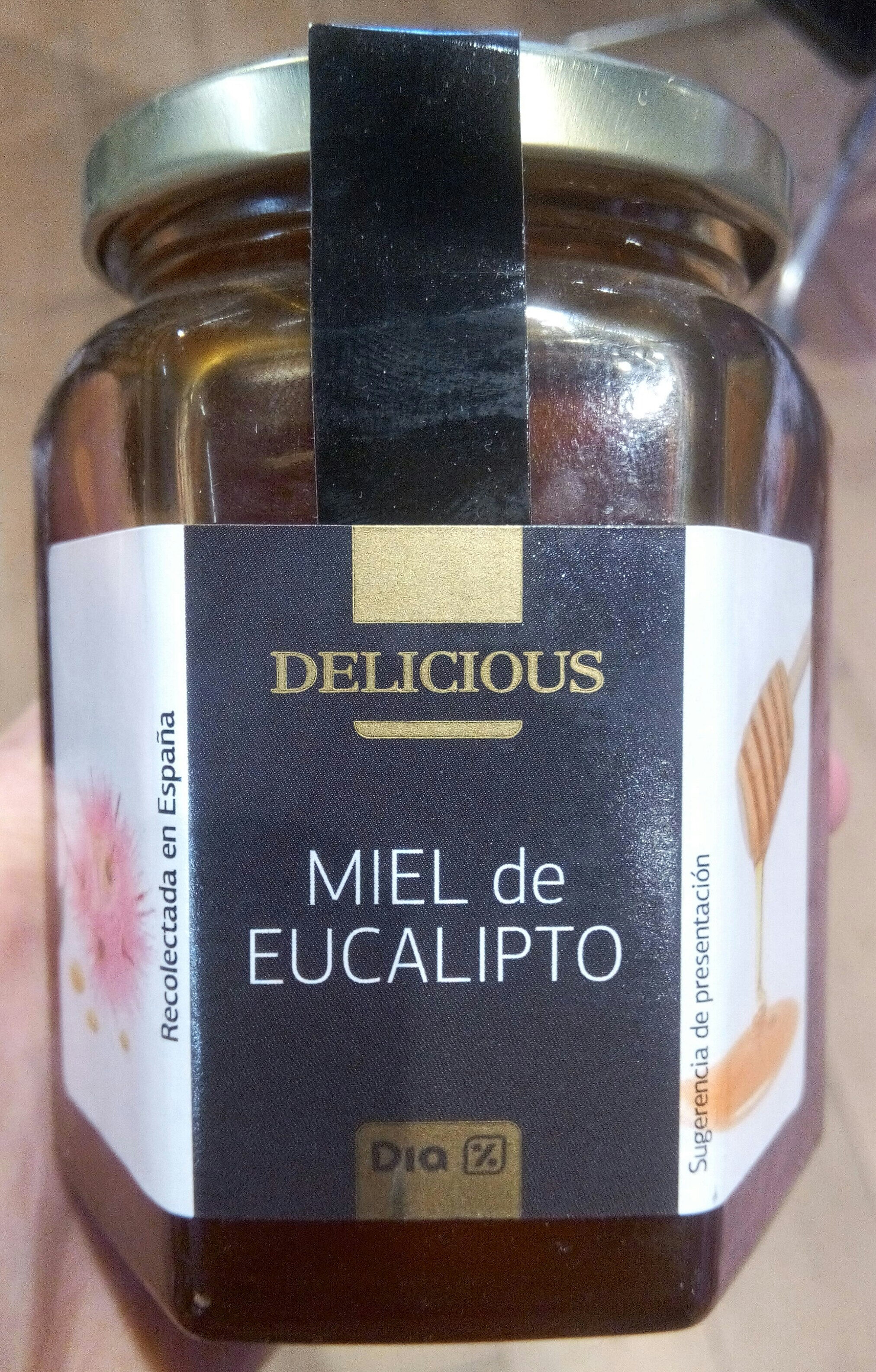 Delicious - Miel de eucalipto - Producto - es