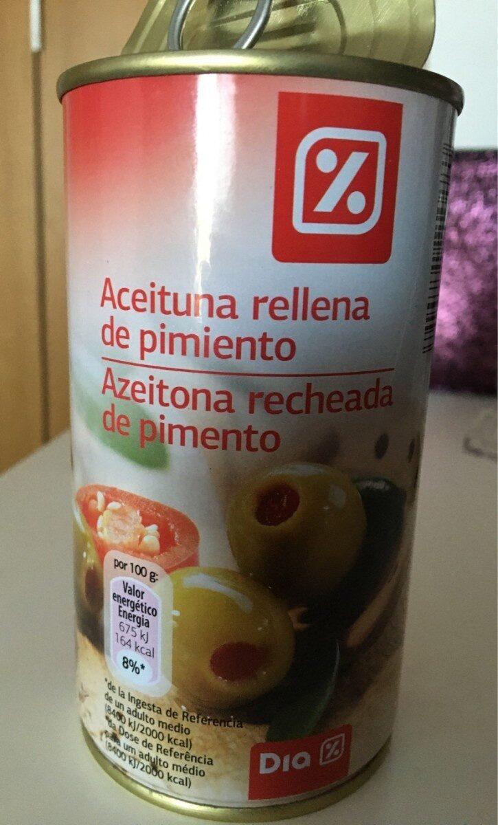 Aceituna rellena de pimiento - Producte - es