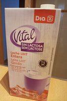 Leche entera sin lactosa - Producto - es