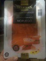 Delicious - Salmón ahumado Noruego - Producte - es