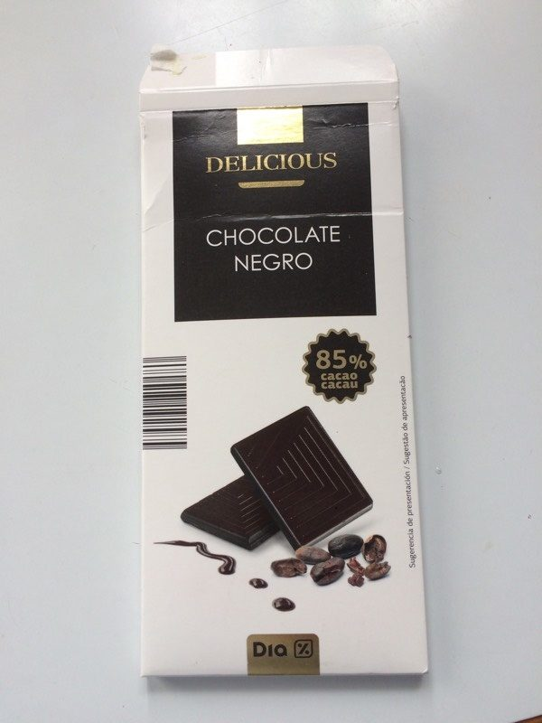 Chocolate negro - Producte - es