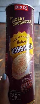 Papas tubo marca dia sabor barbacoa - Prodotto - es
