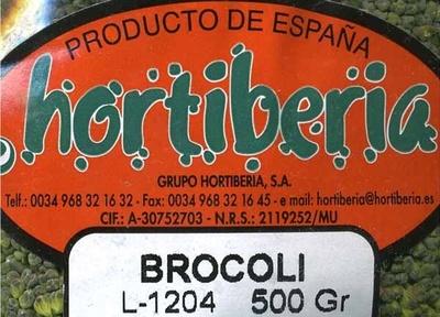 Brocoli - Ingredients
