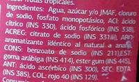 Gym Sport Frutas Tropicales - Ingredienti - es