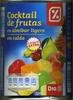 "Mezcla de frutas en almíbar ""Dia"""