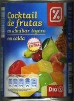 Mezcla de frutas en almíbar - Producto - es