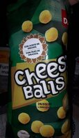 Cheese Balls Snack - Product - es