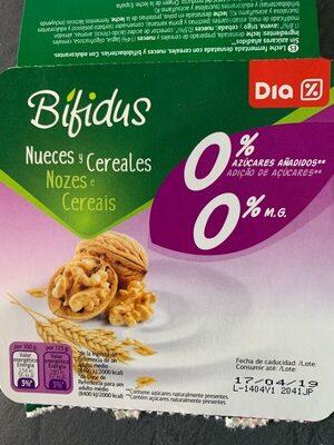 Bífidus nueces y cereales