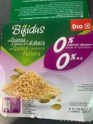Bifidus con quinoa y semillas de calabaza