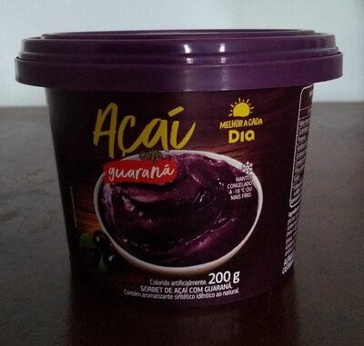 Açaí com guaraná - Produto - pt
