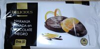 Naranja bañada en chocolate negro - Product