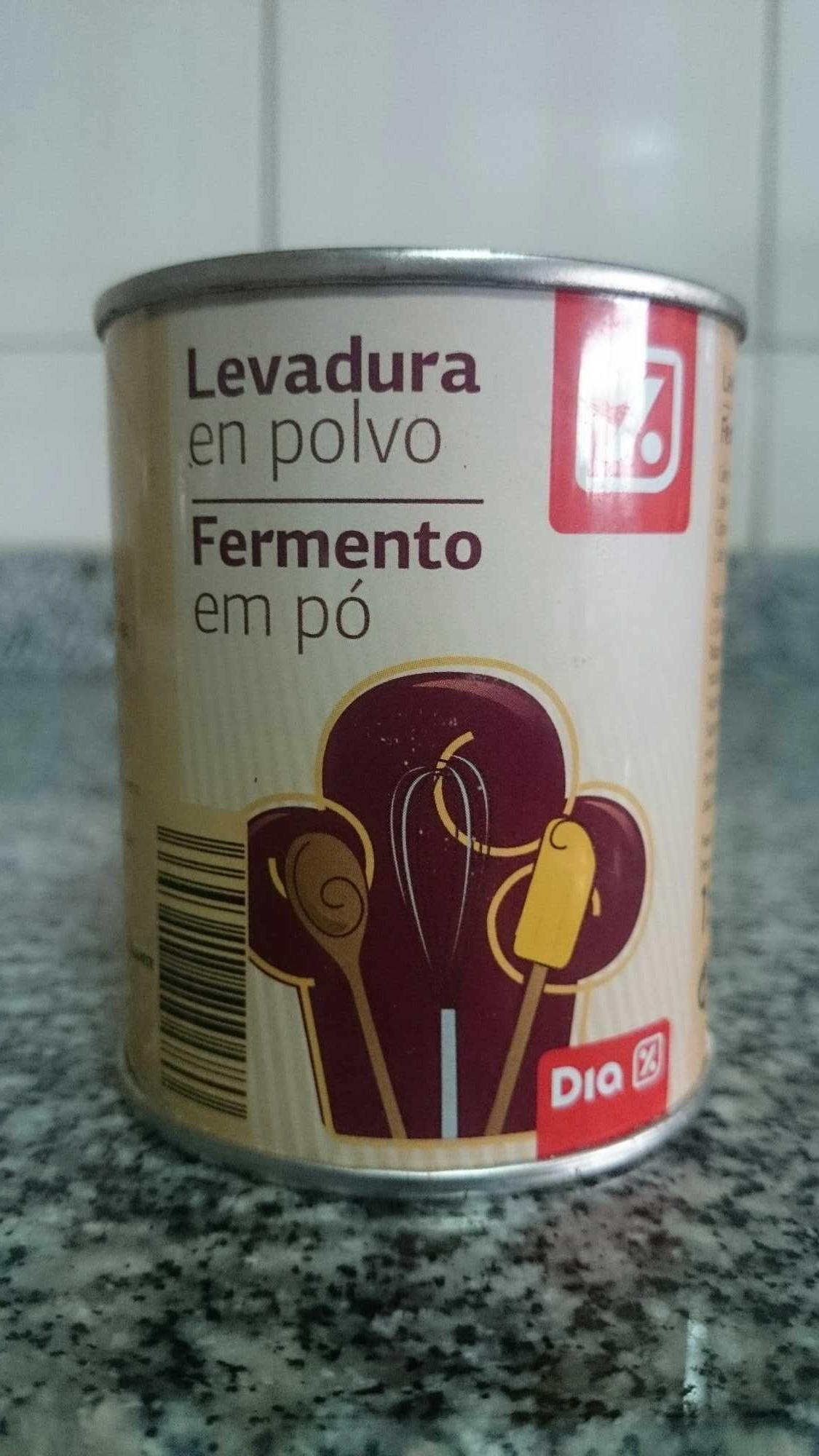 Levadura en polvo - Produit