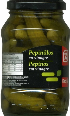 Pepinillos en vinagre - Producto