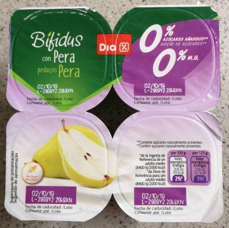 Bifidus con pera - Producte