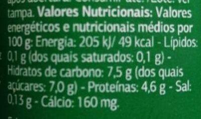Bifidus con pera - Informació nutricional