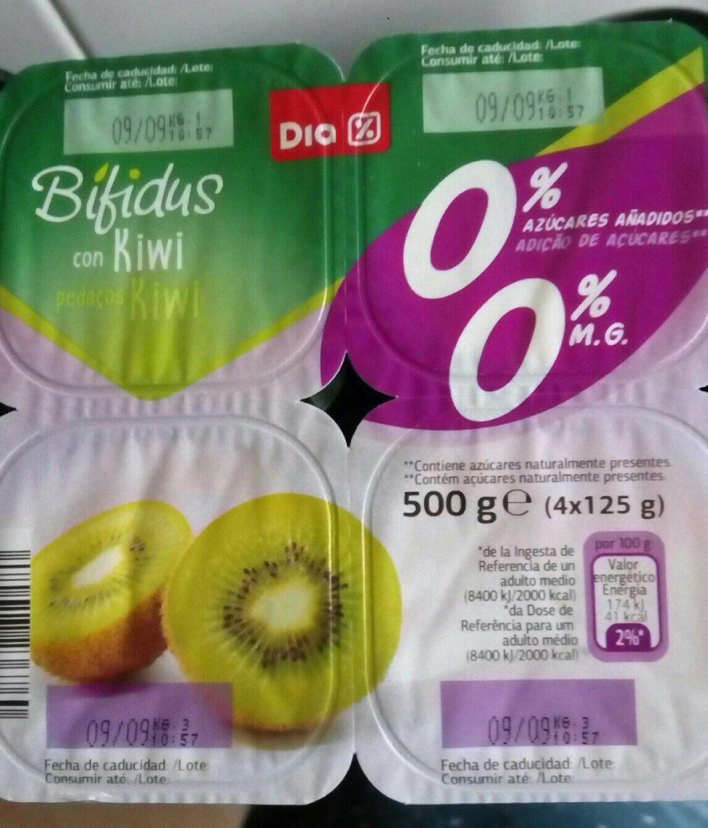 Bifidus con kiwi 0% - Producto - es