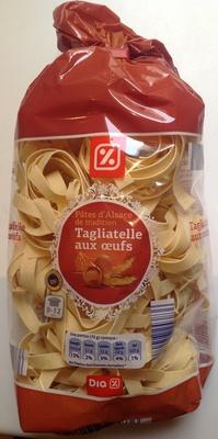 Pâtes d'Alsace de tradition, Tagliatelle aux œufs - Produit - fr