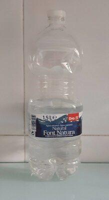 Agua mineral Font Natura Dia 1,5 L - Product - es