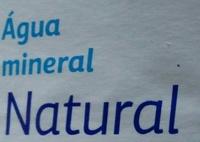 Agua mineral Font Natura Dia 1,5 L - Ingredients