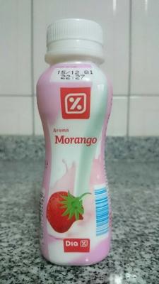 Iogurte líquido morango - Produit - pt