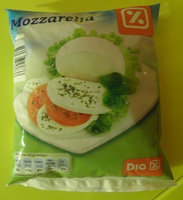Mozzarella (18% MG) - 440 g - Dia - Product - fr