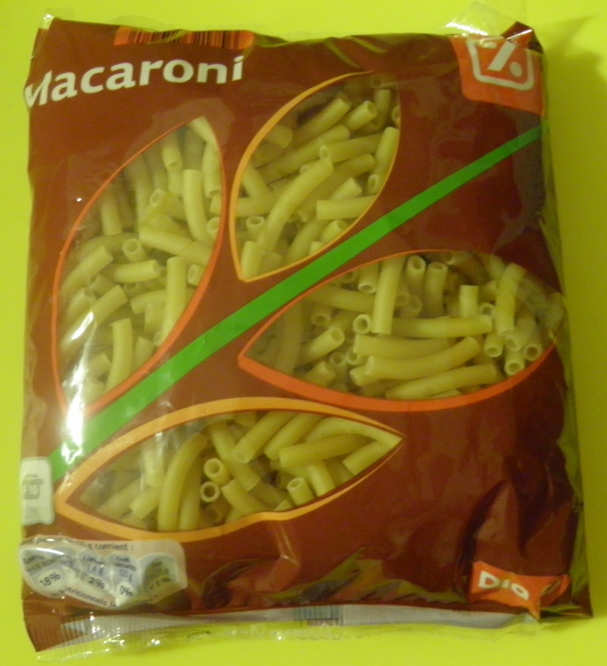 Macaroni - Produit - fr