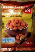 Cacahuètes enrobées goût paprika - Produit - fr