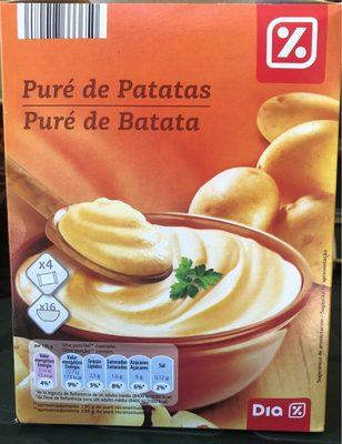 Puré de patatas - Produit - fr