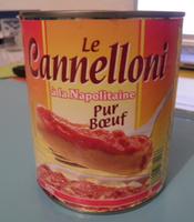 Le Cannelloni à la Napolitaine (Pur Bœuf) - Produit