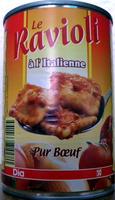 Le Ravioli à l'Italienne (Pur Bœuf) - Produit - fr