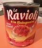 Le Ravioli à la Bolognaise (Riche en bœuf) - Produit