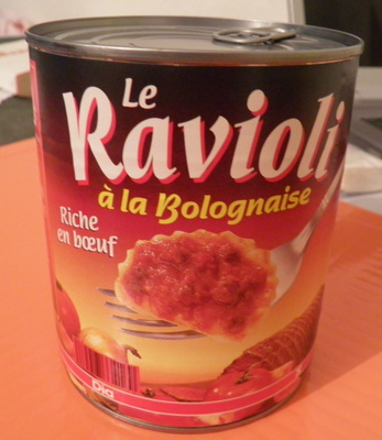 Le Ravioli à la Bolognaise (Riche en bœuf) - Product - fr