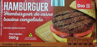 Hambúrguer de carne congelada - Produto - en