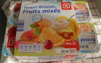 Yaourt Brassés - Fruits mixés - Sans Morceaux - Producto