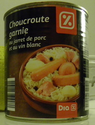 Choucroute garnie au jarret de porc et au vin blanc - Produit - fr